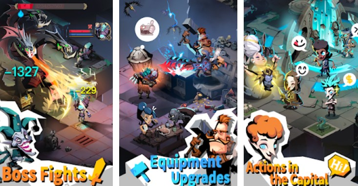 Hra na mobil The Greedy Cave 2: Time Gate