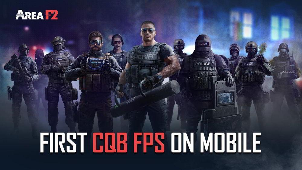 Hra na mobil Area F2