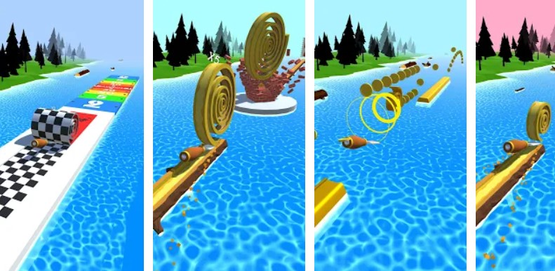 Spiral Roll hra na mobil