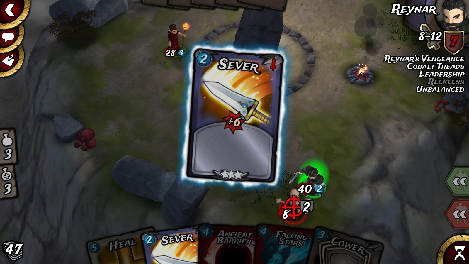 Hra na mobil Traitors Empire Card RPG