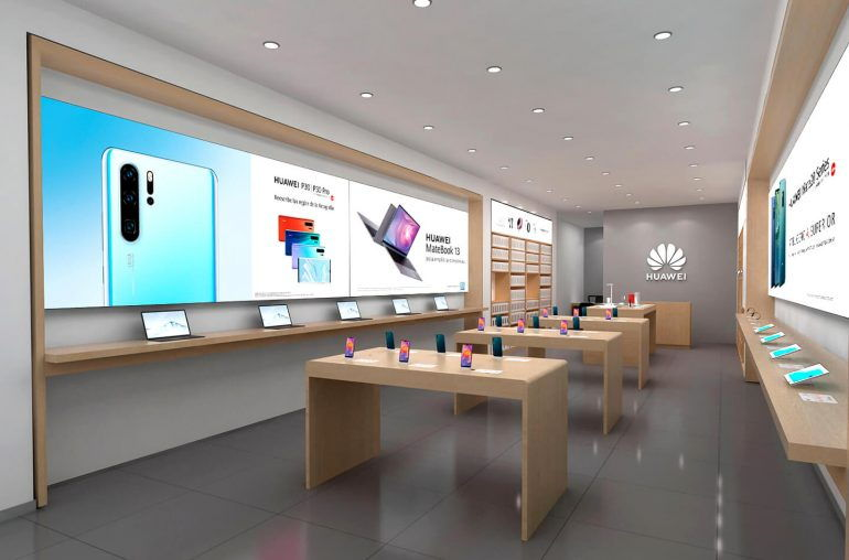 Huawei obchod