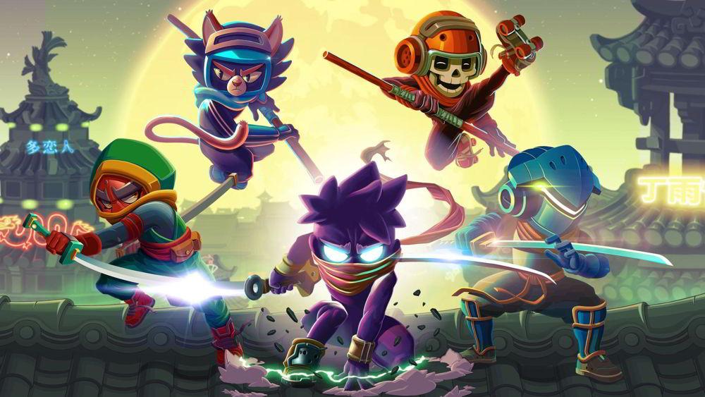 Hra na mobil Ninja Dash