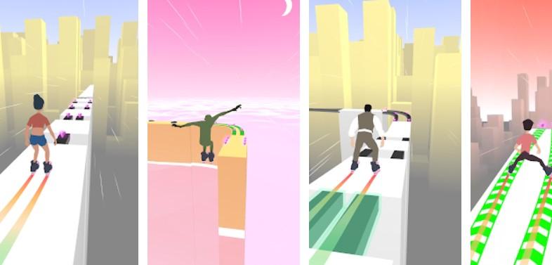 Hra na mobil Sky Roller