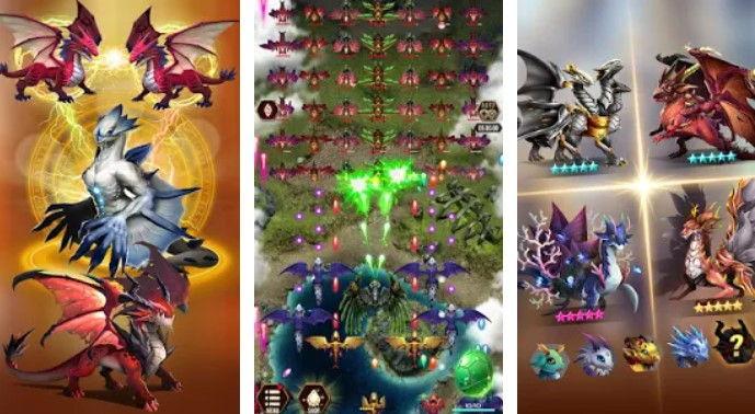 Hra na mobil Dragon Epic