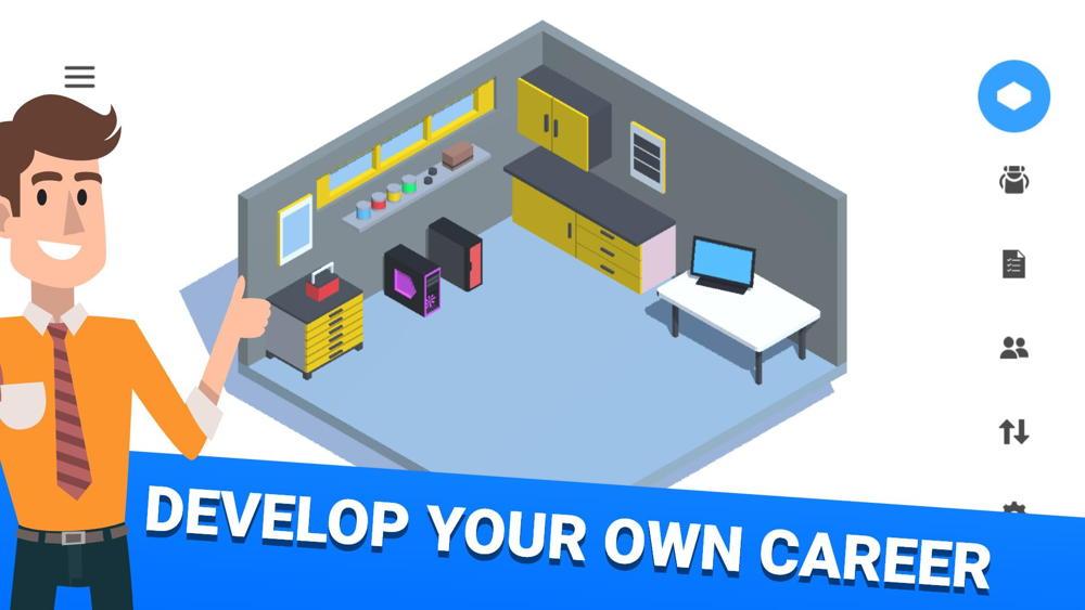 Hra na mobil PC Creator