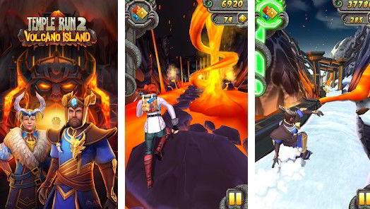Hra na mobil Temple Run 2