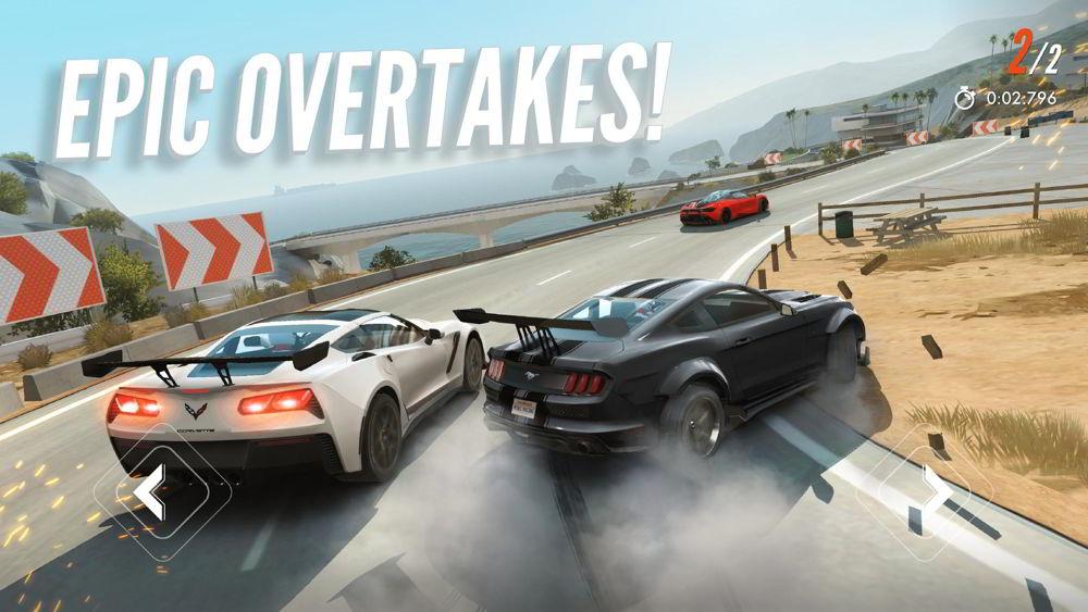 Hra na mobil Rebel Racing