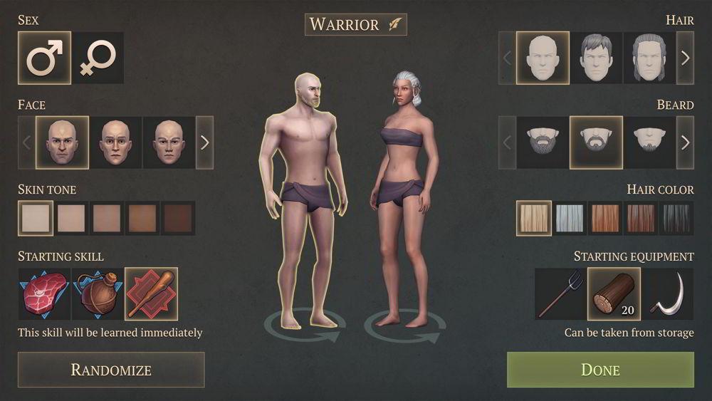 Hra na mobil Grim Soul Dark Fantasy Survival