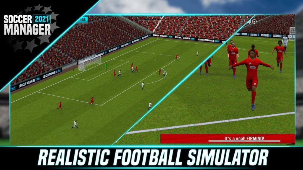 Hra Soccer Manager 2021