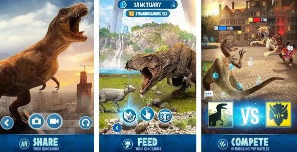 Jurrasic World Alive hra na mobil