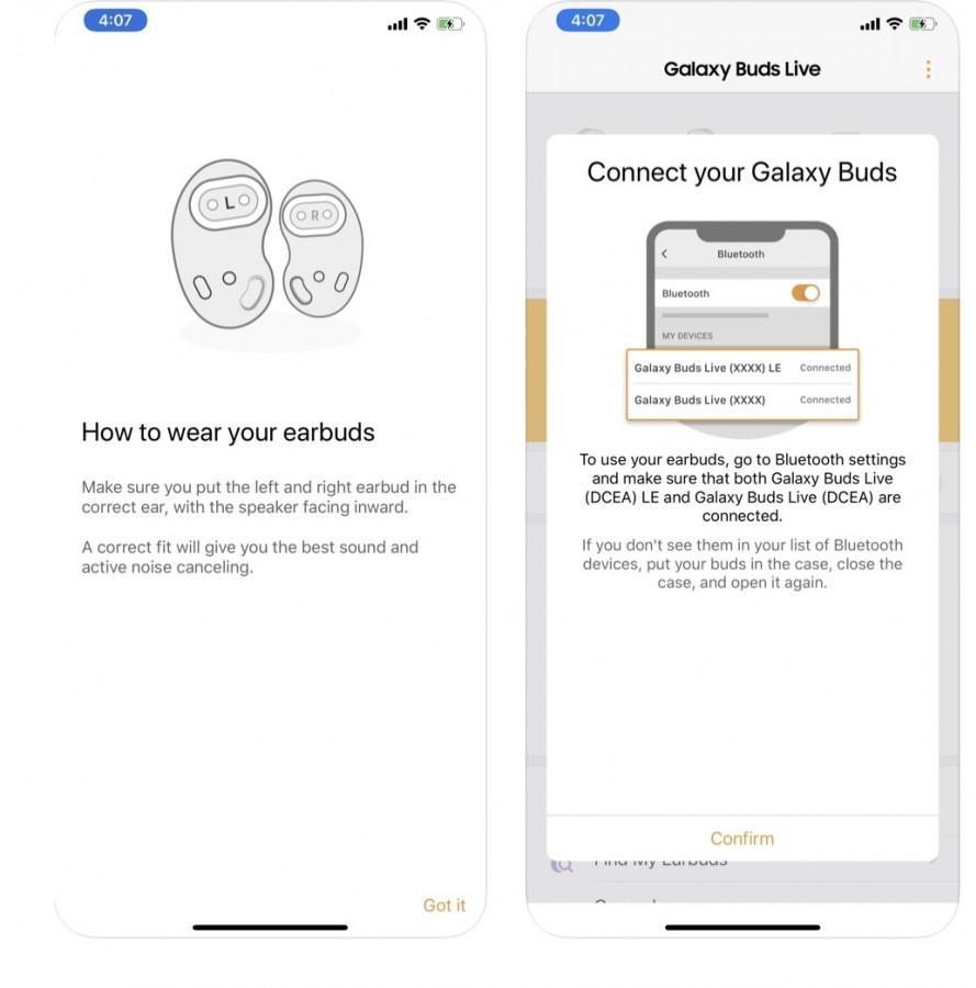Samsung Galaxy Buds Live 1
