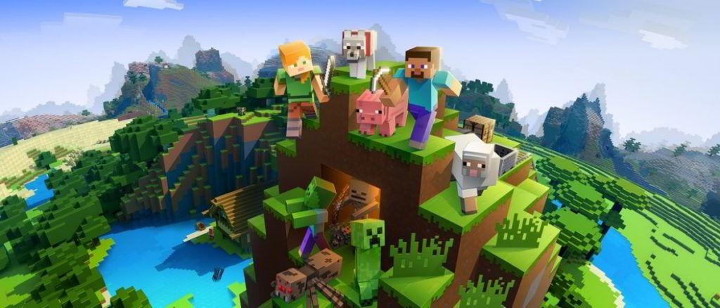 Hra na mobil Minecraft
