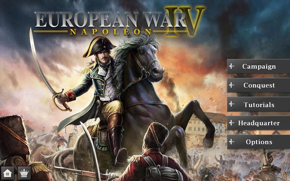 Hra na mobil European War 4: Napoleon
