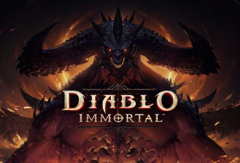 Hra na mobil Diablo Immortal