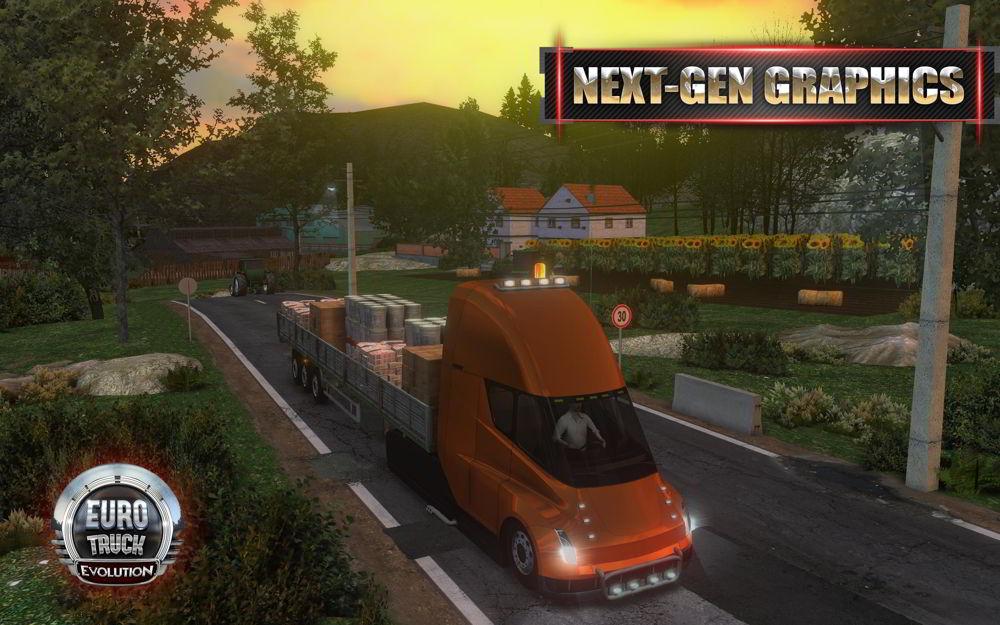 Hra Euro Truck Evolution