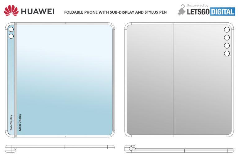 Huawei a jeho nový skládaný telefon