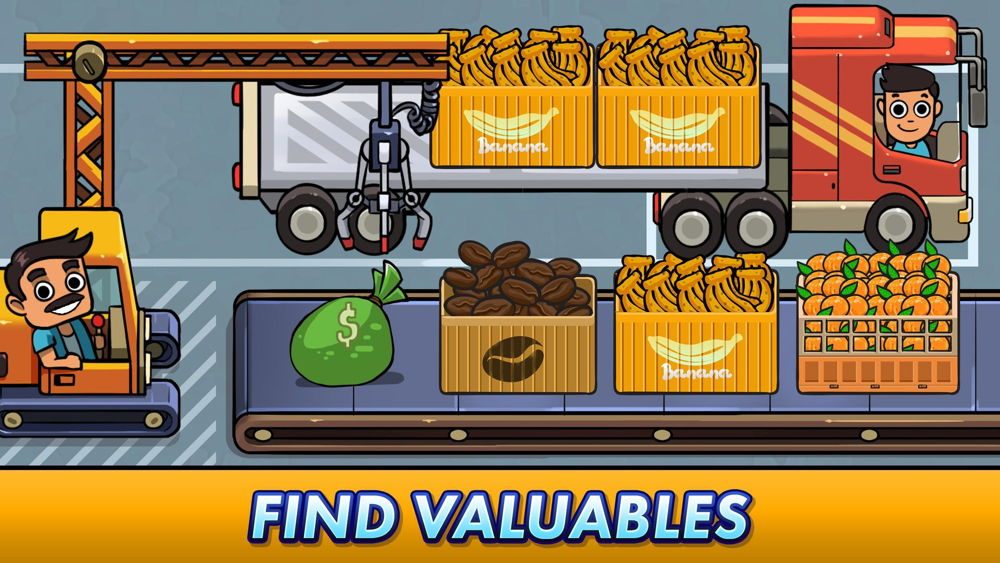 Hra na mobil Transport It! - Idle Tycoon