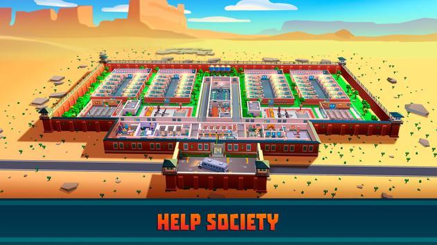 Hra na mobil Prison Empire