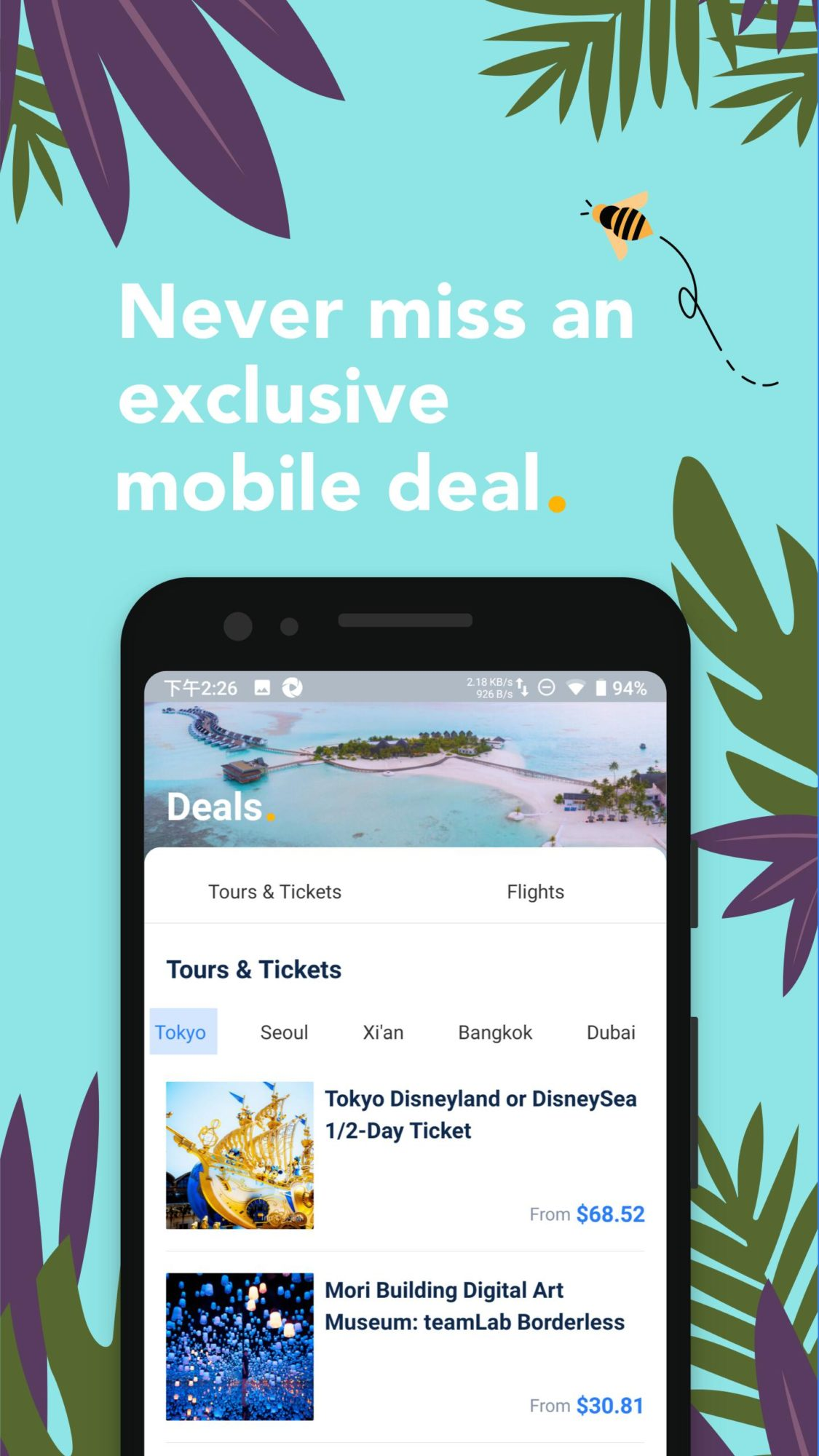 Aplikace Trip.com