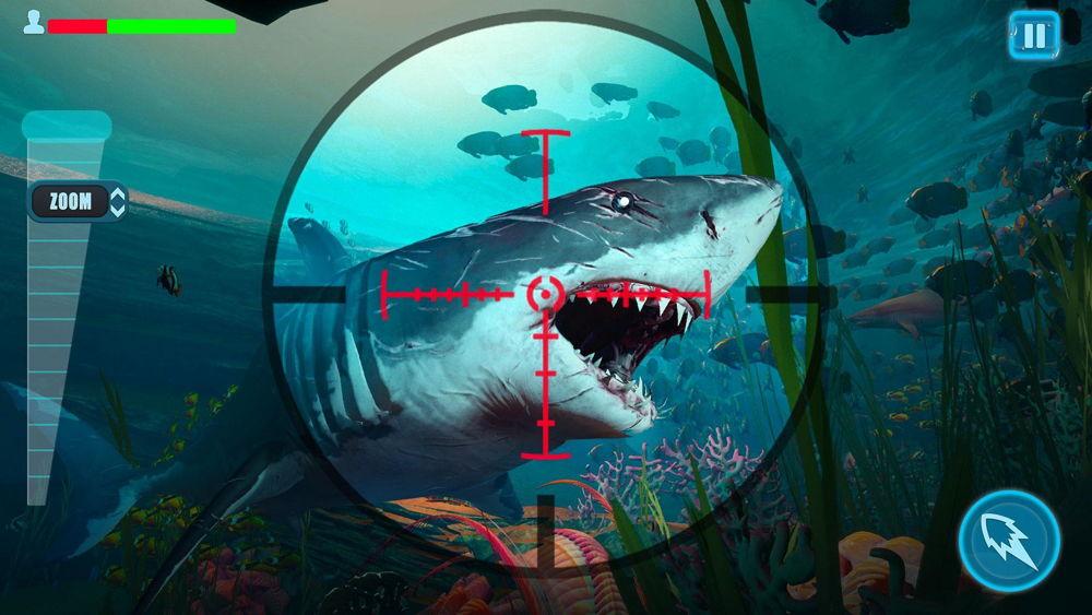 Hra na mobil Survivor Sharks Game