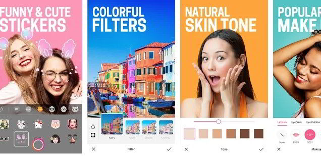 Aplikace BeautyPlus