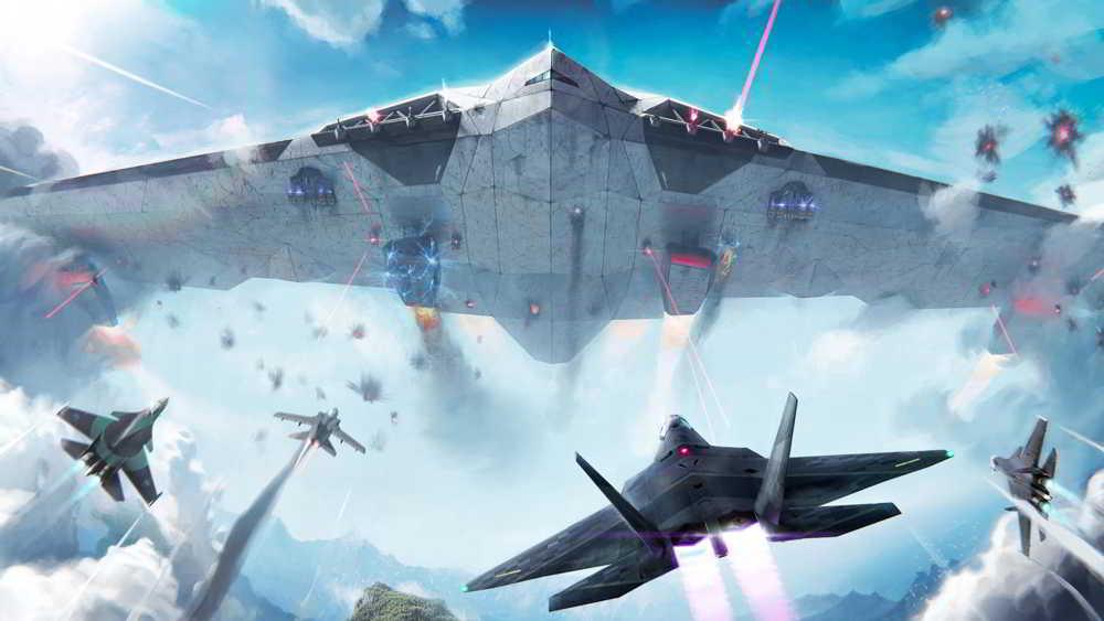 Hra na mobil Modern Warplanes