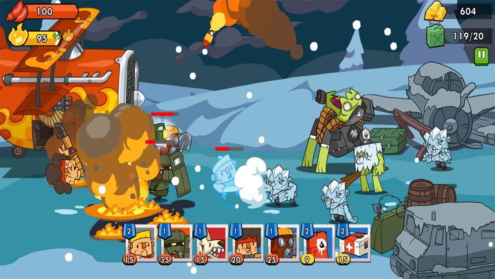 Hra na mobil Zombie Defense 2