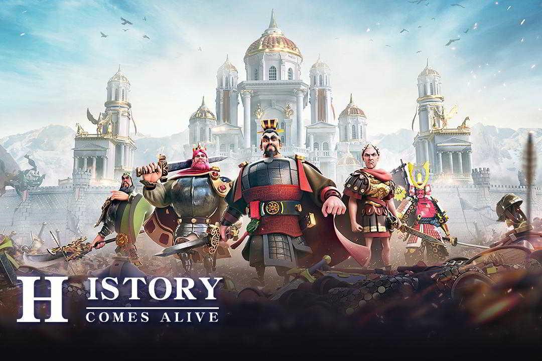 Hra na mobil Rise of Kingdoms: Lost Crusade