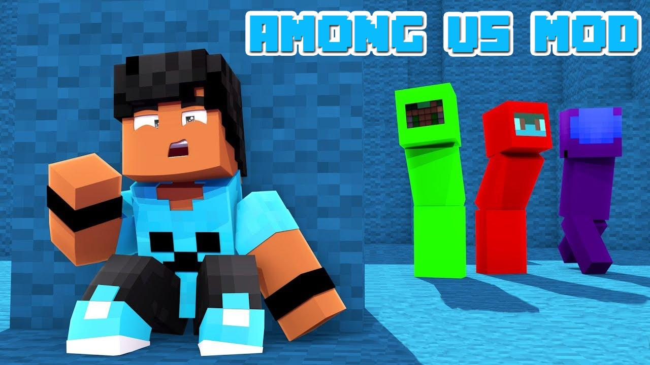 Mod among us for Minecraft PE