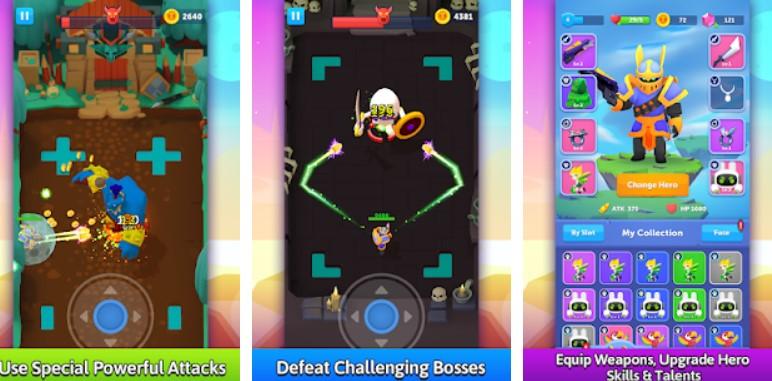 Hra na mobil Bullet Knight