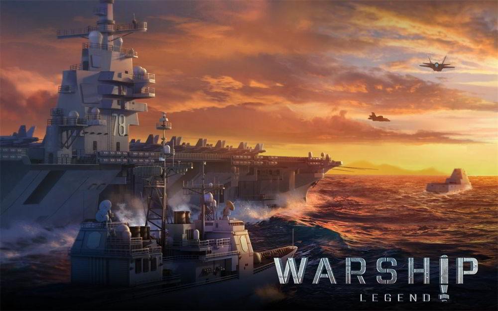 Hra na mobil Warship Legend