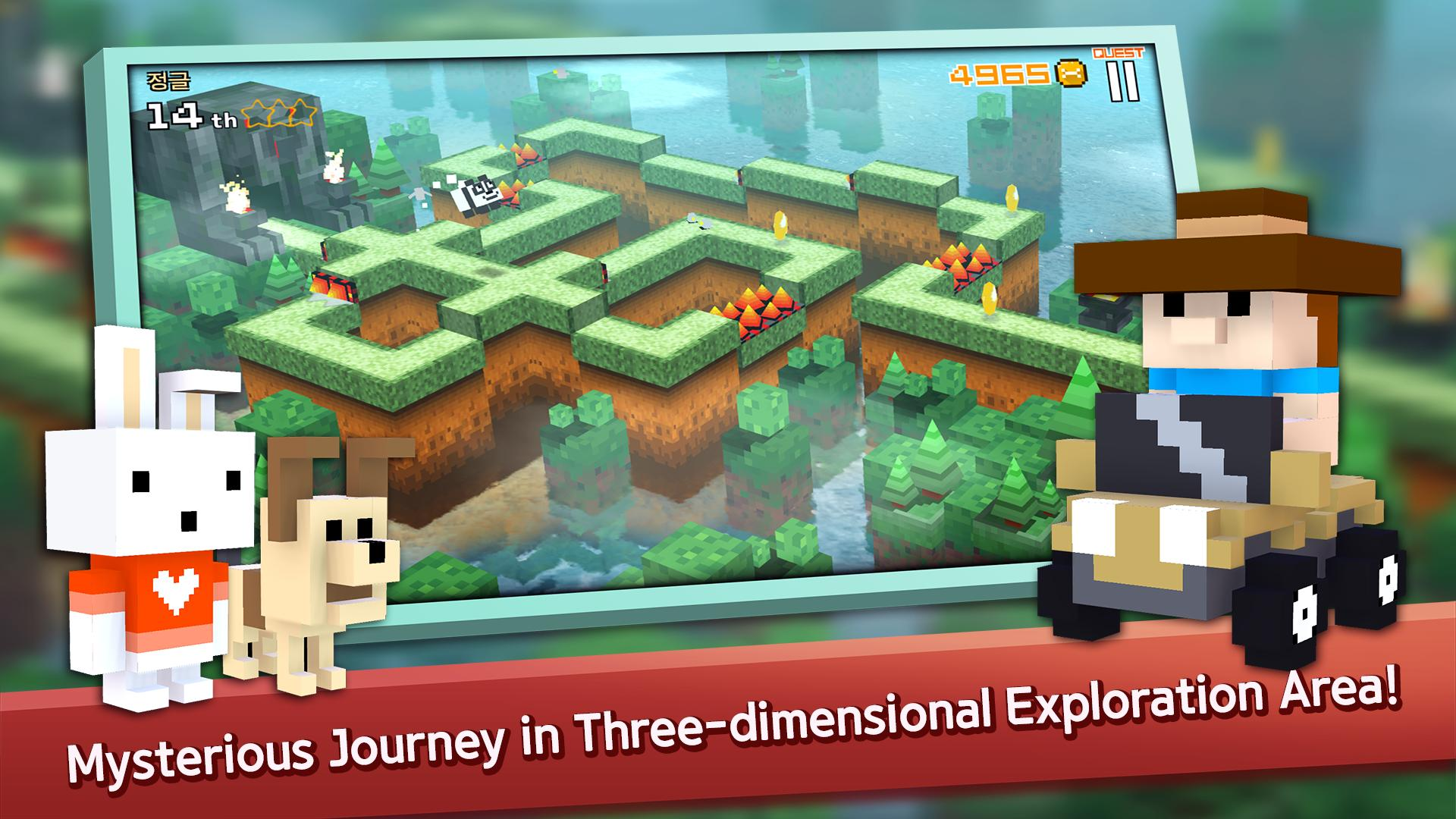 Hra na mobil Jumping Retro