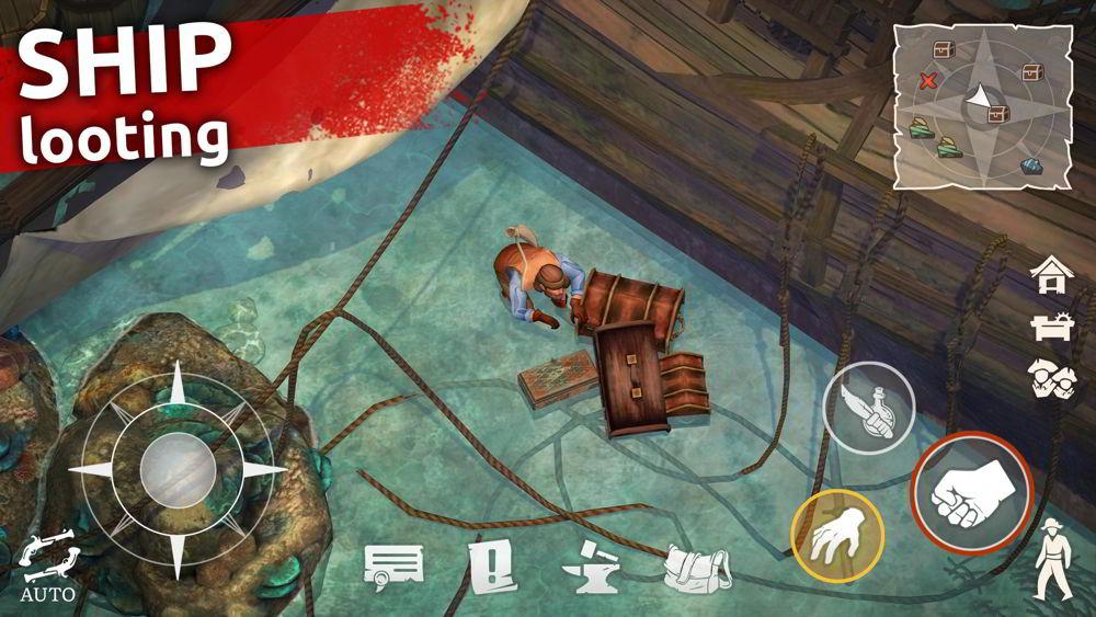 Hra na mobil Mutiny