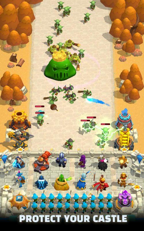 Hra na mobil Wild Castle TD
