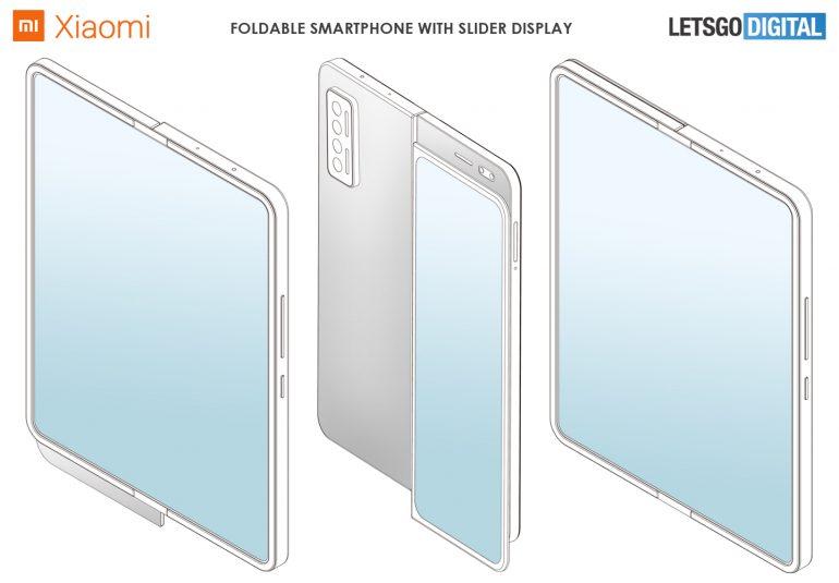 Xiaomi skládací telefon