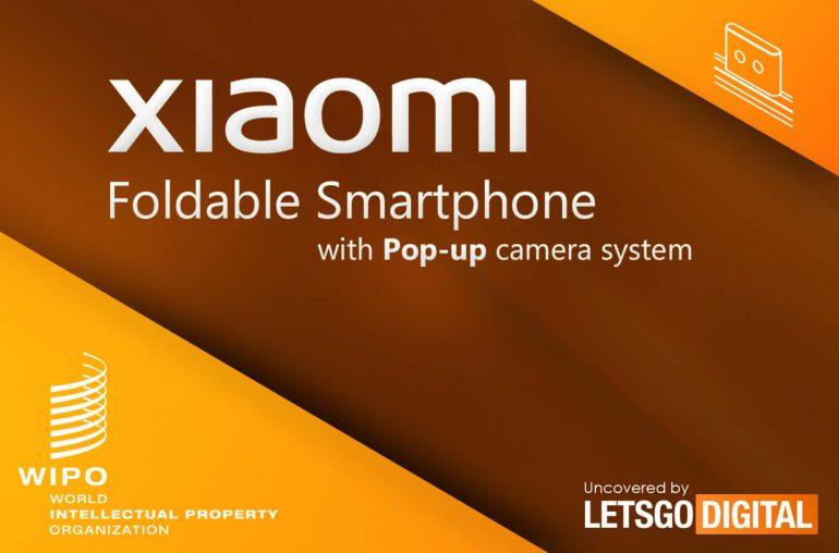 Xiaomi vysouvací kamera