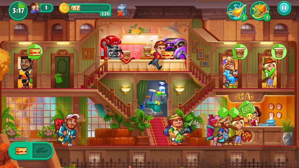 Hra Grand Hotel Mania