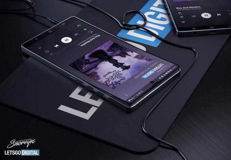 Samsung flexibilní displej