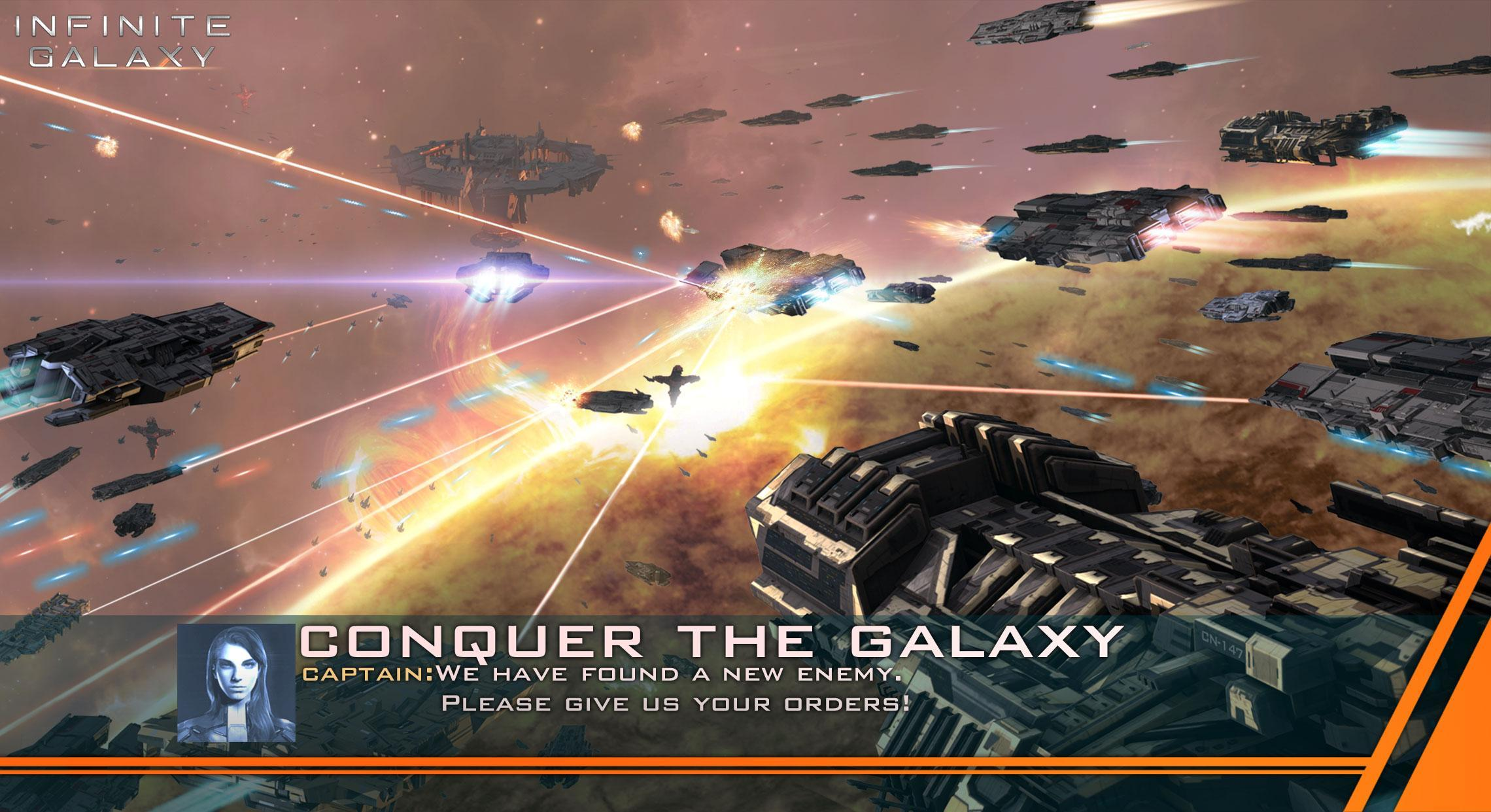 Hra na mobil Infinite Galaxy
