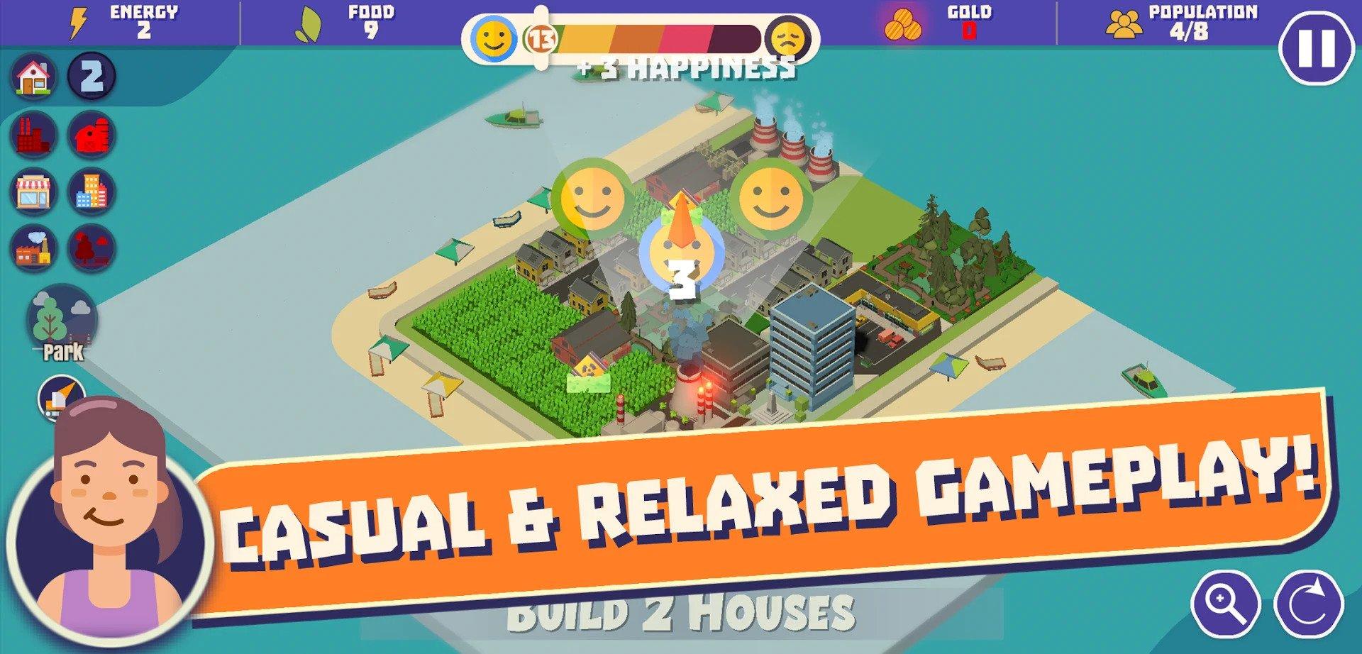 City Builder hra na mobil