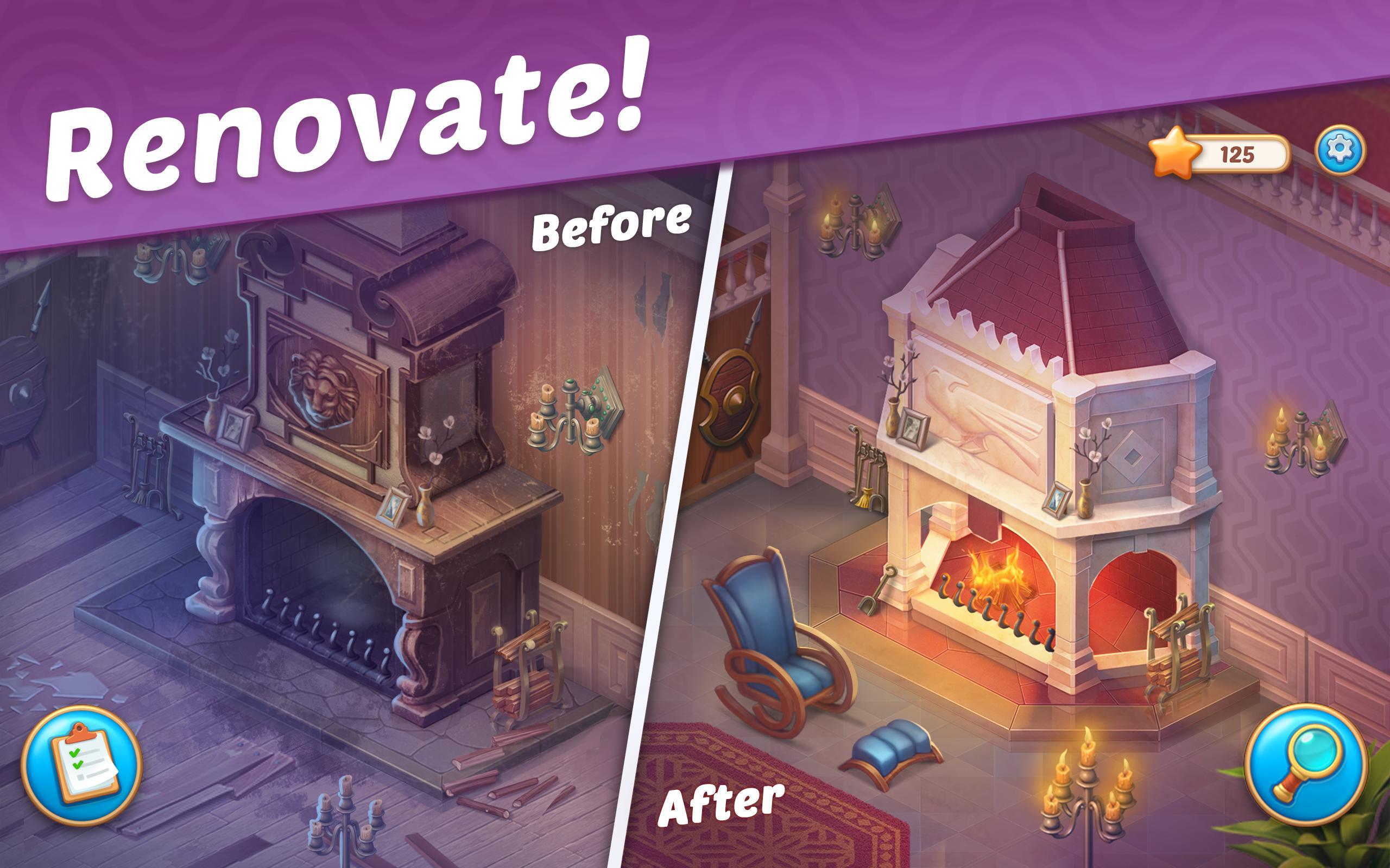 Hra na mobil Manor Matters