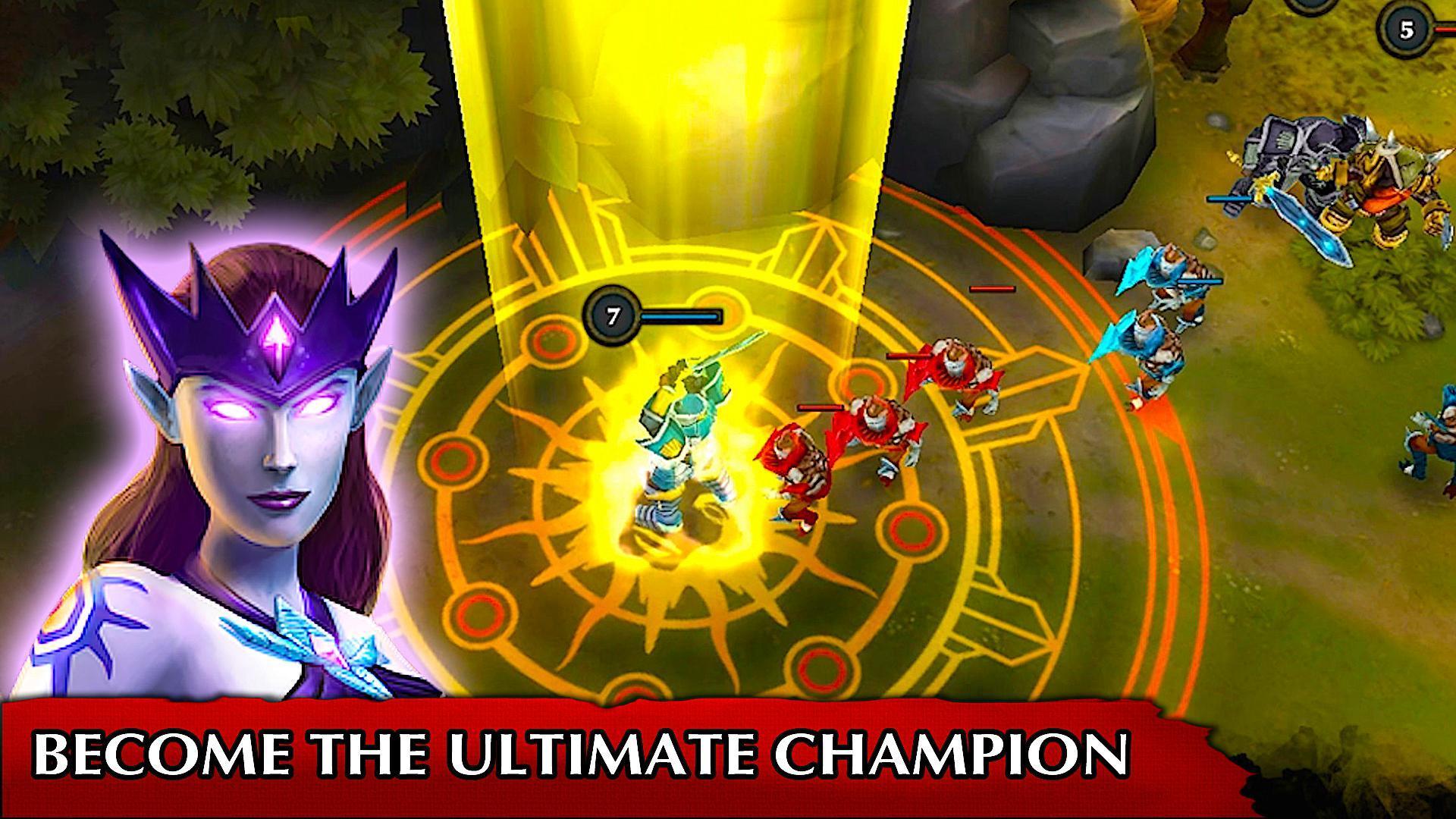 Elektronická licence PC her Legendary Heroes MOBA
