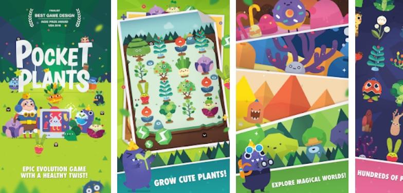 Hra na mobil Pocket Plants