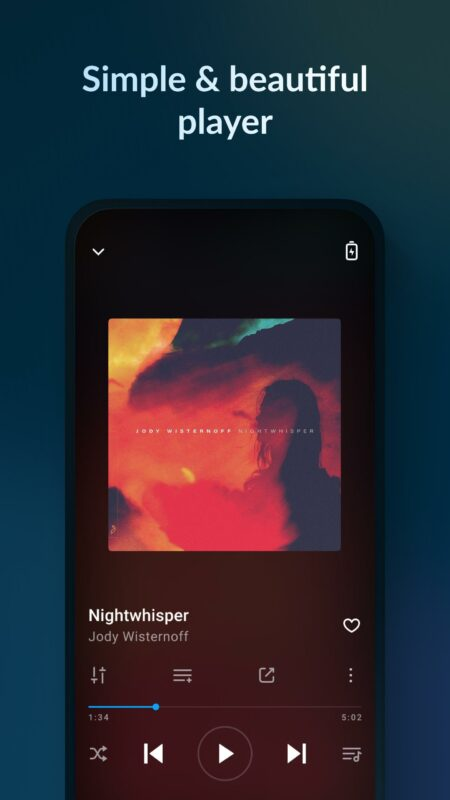 Aplikace na mobil Music Player & MP3 Player - Lark Player