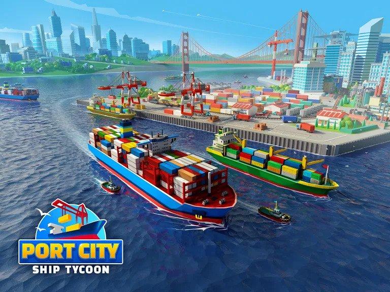 Hra Port City: Ship Tycoon